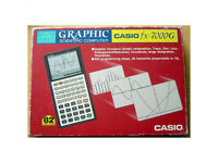 World's First Graphic Calculator - Casio fx-7000G - Boxed