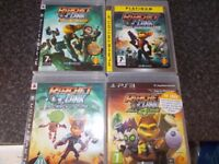 4 ratchet and clank ps3 games