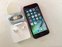 Apple iPhone 7 128GB, Jet Black, Factory Unlocked, +APPLE WARRANTY, NO OFFERS