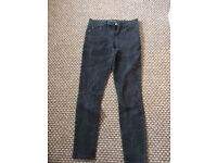 Black jeans- wore once- good quality