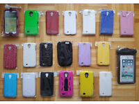 480 Samsung Galaxy S4 Cases Mixed Styles - 15p a Case!!! Joblot Wholesale Car Boot Market Covers