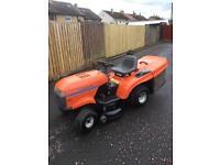 Husqvarna petrol ride on lawnmower 13 hp garden tractor mower