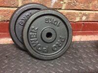 Weights 10kg (x2)