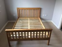 Wooden Double Bed for sale. Excellent condition