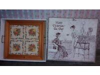 """Maws Victorian Tea Tray"", Boxed, unusued"