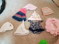 7 baby girl hats