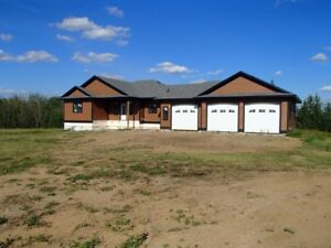 UNRESERVED AUCTION - UNFINISHED 1668 SQ FT HOME - LAC LA BICHE