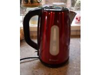 Red Hotpoint Kettle