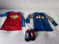 Super Hero Clothes Age 5-6yrs