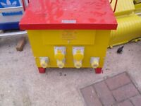 Electro-Wind 10 KVA 415V To 110V Site Transformer 4x 16A 2x 32A Outlet