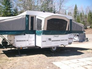 Tente roulotte tent trailer 2008 Flagstaff Forest River 7 places