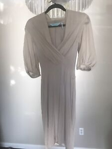 Pale Grey Office/Cocktail Marciano DRESS size SM