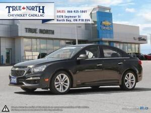 2015 Chevrolet Cruze 2LT FWD - SUNROOF / REAR CAMERA / HEATED SE