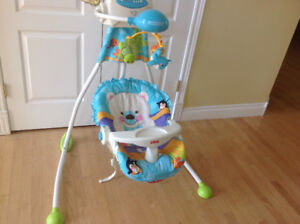 FISHER PRICE 2 WAY PRECIOUS PLANETS SWING