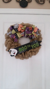 Halloween and Fall Wreaths