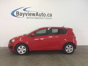 2014 Chevrolet SONIC LS- 5 SPEED! 1.8L! A/C! ON STAR! GAS BUDDY!