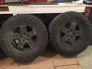 Tire & Rims for Jeep