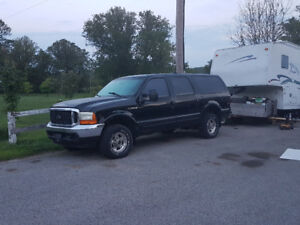 2001 Ford Excursion SUV, Crossover