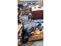 Free for Collection Wood / Timber off-cuts for Burning (may contain nails) (Bagged)