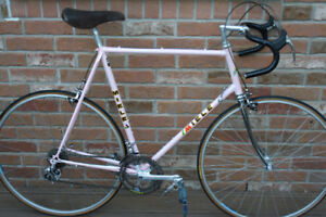 Pink 1980s MIELE Classic Road Racing Bicycle in Great Shape.