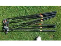 9no burner taylormade golf clubs + 6 others