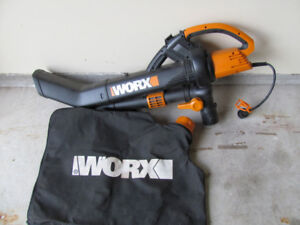 WORX 12 Amp All-in-One Blower/Vac/Mulcher