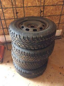 """Volkswagen 15"""" winter rims"""