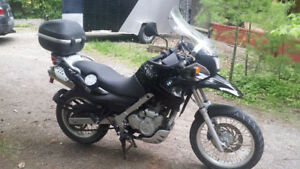 2007 BMW F650 GS for town, country and everything in between
