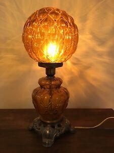 Antique bar lamp