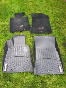 "Hyundai Genesis coupe ""Weather Tech"" floor mats"