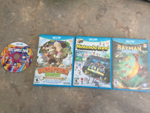 Various WiiU games