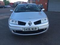 Renault Megane Coupe 2dr 1.6 Convertible 2006 top condition