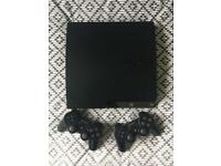 250gb PlayStation 3, Controllers x2, 24 Games. PS3 Bundle.