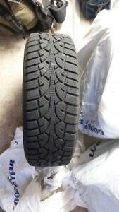 Winter Challenger Tires, with rims (set of 4)