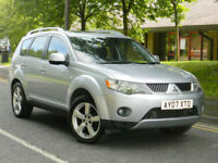 2007 07 Mitsubishi Outlander 2.0 DI-D Elegance 5dr WITH FSH+MEGA SPEC+TOP OF RNG