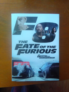 Fate Of The Fast And Furious DVD