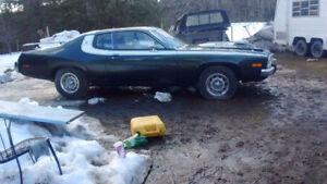 GTX Plymouth Road Runner $30000 Shuswap Lake BC