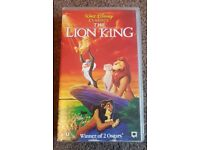 The Lion King VHS tape