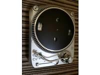 Homemix TT500M Belt Drive Turntable Kit + Vinyls with carry case
