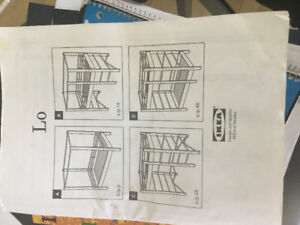 Two complete IKEA Lo beds