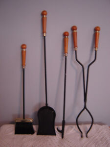 Beautiful Fireplace Utensil Set- New Price