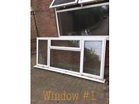 Double glazed UPVC windows with sills reduced to £40 each