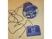 Mitan Steering Wheel and Foot Pedals