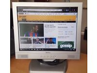 Belinea 15 Inch; LCD Flat Screen Monitor With Integrated Speakers