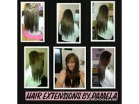 HAIR EXTENSIONS SPECIALIST BY PAMELA