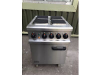 Lincat Opus 700 4 Plate Oven 3 Phase Electric Catering Ring Hob Cooker OE7010