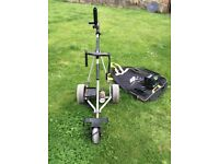 Powercaddy electric golf trolley