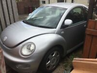 New beetle spares repair project