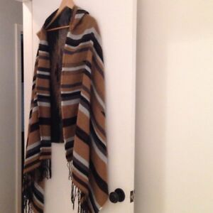 Blanket Scarf with hood