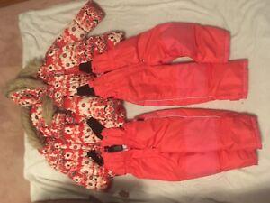 2 sets of Size 5 snowsuits